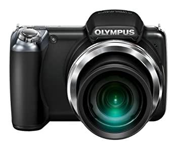 【中古】OLYMPUS デジタルカメラ SP-810UZ ブラック 1400万画素 光学36倍ズーム 3.0型ワイドLCD 広角28mm 3Dフォト機能 SP-810UZ BLK