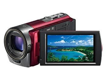大人気 【】ソニー SONY デジタルHDビデオカメラレコーダー CX180 レッド HDR-CX180/R, 足寄郡 6f5f92e0