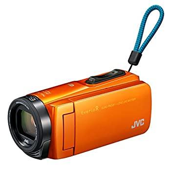 中古 JVCKENWOOD JVC ビデオカメラ Everio R ギフト プレゼント ご褒美 防塵 防水 GZ-RX670-D オンラインショップ サンライズオレンジ Wi-Fi 64GB