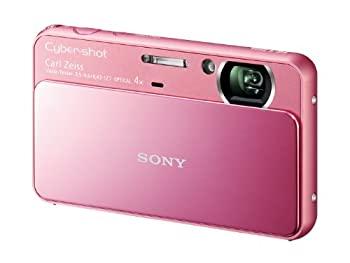 お値打ち価格で 評判 中古 ソニー SONY デジタルカメラ Cybershot T110 P 光学x4 DSC-T110 1610万画素CCD ピンク