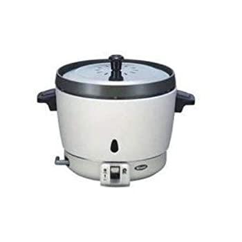 中古 リンナイ 業務用ガス炊飯器 プロパンガス用 普及タイプ 70%OFFアウトレット 直径9.5mm ゴム管接続 セール 1.5升用 RR-15SF-1-LP