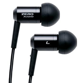 大放出セール 専門店 中古 ZERO AUDIO ZH-BX500-BK ブラック インナーイヤーステレオヘッドホン
