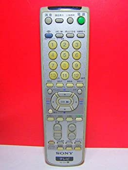 中古 SONY 百貨店 テレビリモコン レビューを書けば送料当店負担 RM-J259