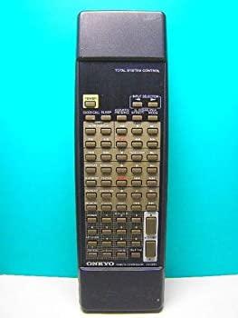 中古 上等 初売り オンキョー オーディオリモコン RC-398S