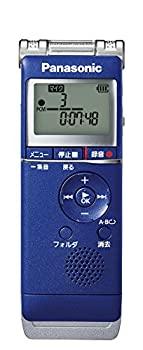 中古 即納最大半額 パナソニック ICレコーダー 直輸入品激安 4GB ブルー RR-XS360-A