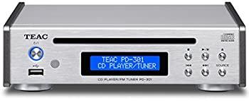 <title>中古 ティアック CDプレーヤー FMチューナー シルバー PD-301-S ブランド品</title>
