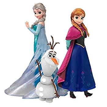 【25%OFF】 フィギュアーツZERO アナと雪の女王 Frozen Special Box 3体セット アナ 約145mm エルサ 約150mm オラフ 約80mm 専用台座シート PVC製 塗装済み, ペイントアシストラッキー 43213588