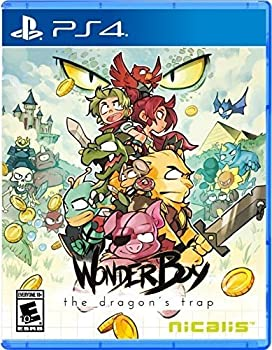中古 Wonder Boy The トレンド Dragon's - 輸入版:北米 PS4 Trap ご注文で当日配送