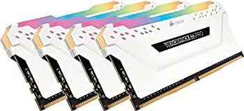 中古 CORSAIR DDR4-3200MHz デスクトップPC用 メモリモジュール VENGEANCE シリーズ 8GB×4枚 32GB 今ダケ送料無料 RGB CMW32GX4M4C3200C16W 新作続 PRO