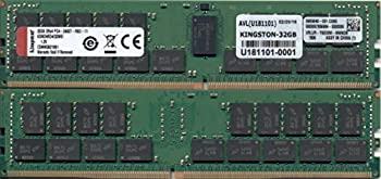 キングストン KSM24RD4 32MEI 32GB DDR4 2400MHz ECC CL17 2Rx4 1 2V RegisH92DIE