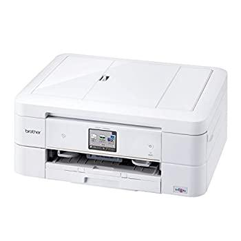 中古 brother 日本産 インクジェットプリンター複合機 正規品 ホワイト PRIVIO DCP-J968N-W