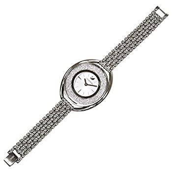 [スワロフスキー] 腕時計 クリスタルライン オーバル クォーツ ブレス 5181008 並行輸入品 シルバー [並行輸入品]:お取り寄せ本舗 KOBACO