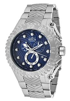日本初の 【】[インビクタ]Invicta 腕時計 12932 Pro Diver Chronograph Blue Textured Dial Stainless Steel メンズ [並行輸入品], ダテグン cb68f0a2