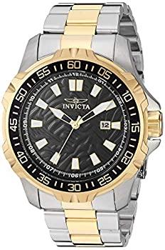 中古 Invicta Men's 25795 Pro Diver Dial Watch 爆買い新作 Hand 3 バーゲンセール Black Quartz