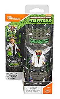 【中古】Mega Construx Teenage Mutant Ninja Turtles Classic Series Dr. Baxter Stockman Mutagen Canister