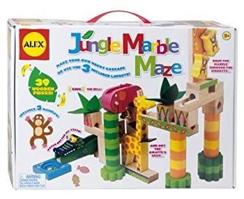 中古 ALEX ジャングルマーブル迷路 高級な 本店 Toys