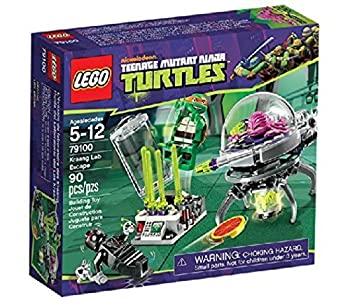 中古 レゴ 新作 大人気 メーカー在庫限り品 LEGO ニンジャ クランゲの研究所からの脱出 タートルズ 79100