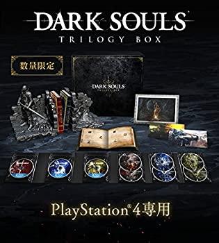 【中古】DARK SOULS TRILOGY BOX 【予約特典】「上級騎士バストアップフィギュア」同梱 特典「オリジナルポストカード4種セット」 付 - PS4