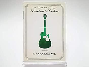 中古 FC限定 THE ALFEE Premium Members 40th Anniversary K.SAKAZAKI ver. DVD 予約 Volume 2 市場