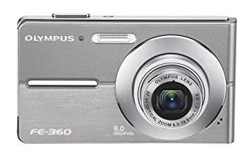 中古 ストア OLYMPUS デジタルカメラ キャメディア FE-360 爆買い新作 CAMEDIA