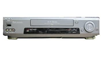 中古 VHSビデオデッキ 超歓迎された ソニー リモコン付 SLV-FX9 マーケット