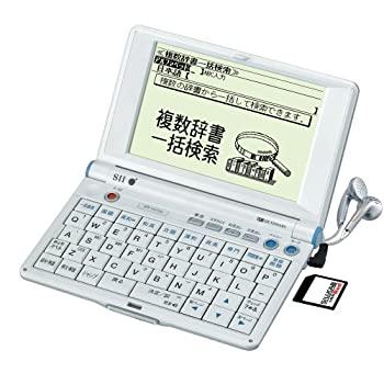 中古 年中無休 SEIKO IC DICTIONARY SR-V4700 音声対応 28コンテンツ 学習モデル SALE開催中 シルカカードレッド対応