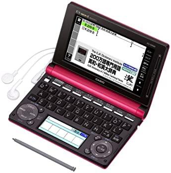 中古 カシオ計算機 電子辞書 EX-word XD-D8500 いつでも送料無料 140コンテンツ XD-D8500RP 数量は多 ビジネスモデル ルージュピンク