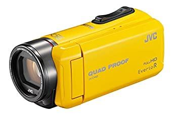 【日本未発売】 【】JVC ビデオカメラ イエロー Everio 耐低温 R 防水5m【】JVC 防塵仕様 耐低温 耐衝撃 内蔵メモリー32GB イエロー GZ-R400-Y, リアル:69fc625c --- cpps.dyndns.info