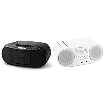 【中古】【セット買い】ソニー CDラジカセ レコーダー CFD-S70 : FM/AM/ワイドFM対応 録音可能 ブラック CFD-S70 B & CDラジオ ZS-S40 : FM/AM/ワイドFM