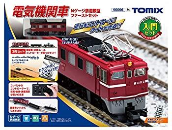 玄関先迄納品 TOMIX 電気機関車 Nゲージ鉄道模型ファーストセット 90096 鉄道模型 入門セット, カナシチ ef4fc548