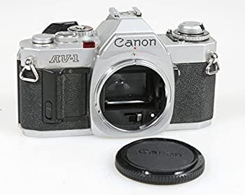 【中古】Canon AV - 1?35?mmフィルムカメラSLRボディW /ボディキャップ、作業