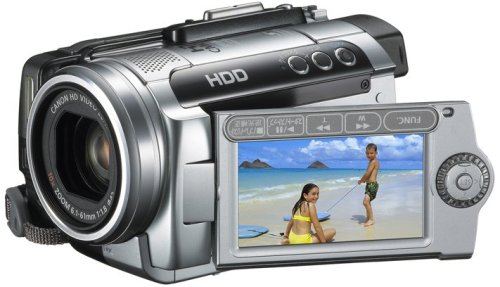 【中古】Canon フルハイビジョンビデオカメラ iVIS (アイビス) HG10 IVISHG10 (HDD40GB)
