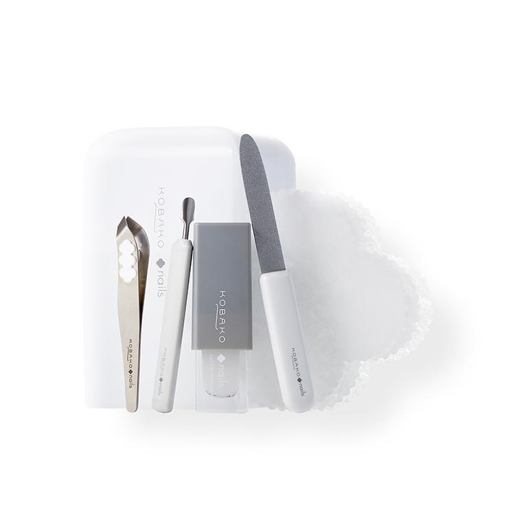 送料無料 貝印 KOBAKO 公式 期間限定送料無料 ネイルケアセット ネイルファイル キューティクルリムーバー コンパクトニッパー 注目ブランド 3枚 ビューティーツール マルチリムーバークロス キューティクルプッシャーL