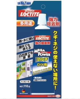 ◇限定Special Price 多用途接着剤 ヘンケルジャパン ロックタイト 公式サイト LOCTITE メガパワーマルチ110 110g