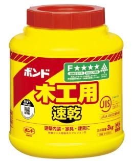 木工用接着剤 木工用ボンド コニシ ボンド木工用速乾 ●日本正規品● 期間限定特別価格 ポリ缶 3kg