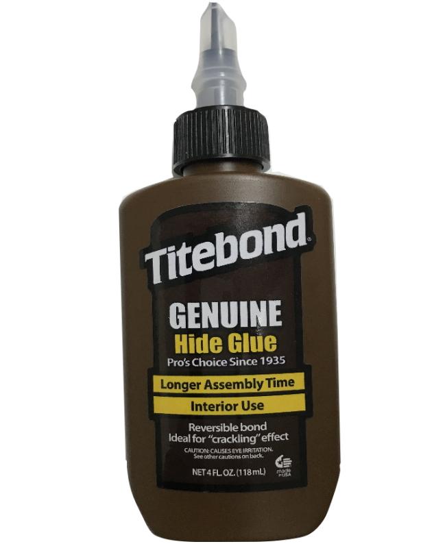 天然成分の木工用接着剤 フランクリン タイトボンド ジェニュインハイドグルー 新着セール 液体にかわ 商店 130g 4oz