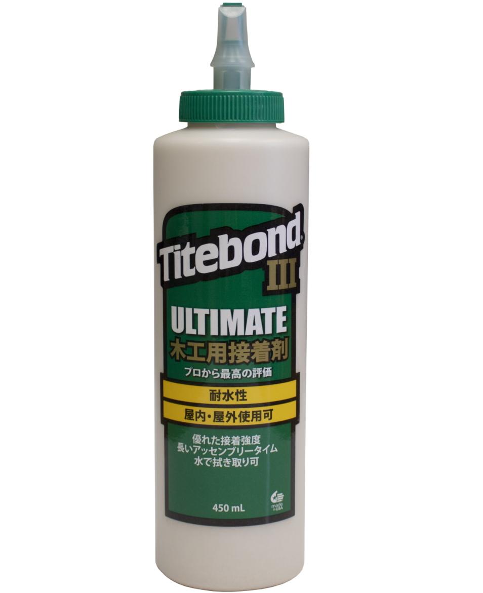 国内正規品 アメリカの耐水性のある木工用接着剤 卓出 タイトボンド3 16oz 450ml