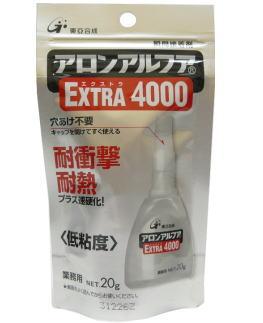 東亞合成 アロンアルフアEXTRA4000 20g ケース25本入り(お取り寄せ品)