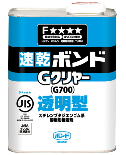 コニシ ボンドGクリヤー 1kg(缶) ケース12缶入り(お取り寄せ品)