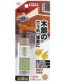 コニシ 接着パテ 木部用 30g小箱10本入り(お取り寄せ品)