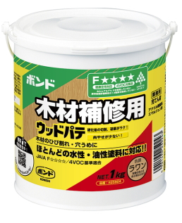コニシ ウッドパテ ラワン 1kg ケース12缶入り(お取り寄せ品)