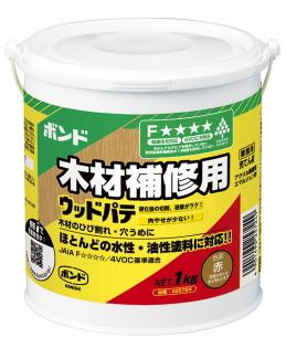 コニシ ウッドパテ 赤 1kgケース12缶入り(お取り寄せ品)