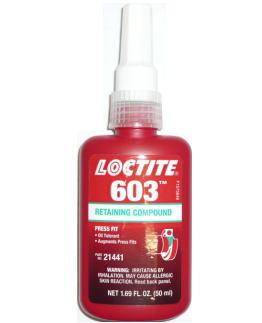 ヘンケルジャパンロックタイト(LOCTITE)603 50ml小箱10本入り(お取り寄せ品)