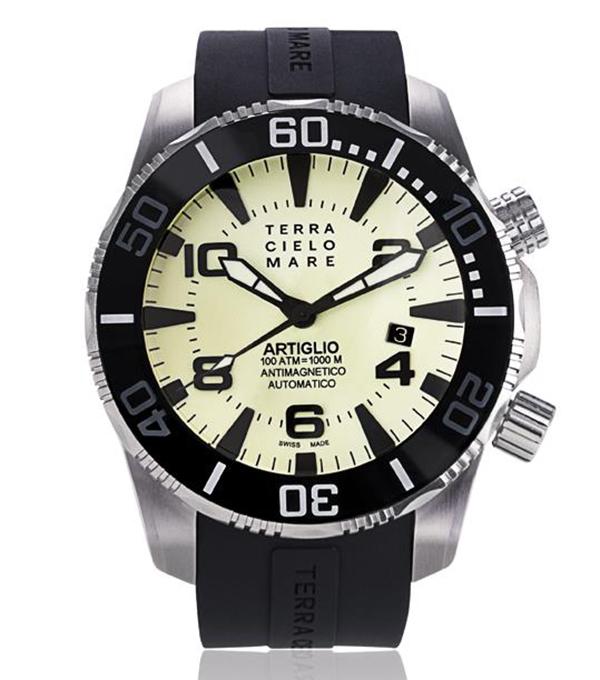 腕時計 TERRA CIELO MARE ARTIGLIO テラチェロマーレ アルティグリオ TC7034AC3PA メンズ時計【コンビニ受取対応商品】