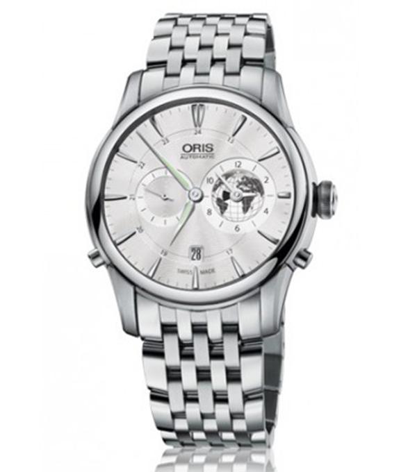 腕時計 ORIS オリス アートリエ GreenwichMeanTime リミテッドエディション 690.7690.4081M メンズ【送料無料、ギフトラッピング無料】 メンズ時計【コンビニ受取対応商品】