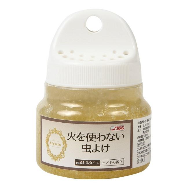 安心の日本製 中古 火を使わない虫よけ 160ml ヒノキの香り 不快害虫対策 ディート無添加 激安価格と即納で通信販売 日本製