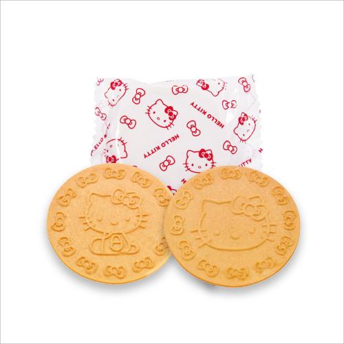 (FK-5)ハローキティ ミニゴーフル3入 ホワイトデー お返し お菓子 贈り物 ギフト プチギフト お土産 神戸 風月堂 神戸風月堂