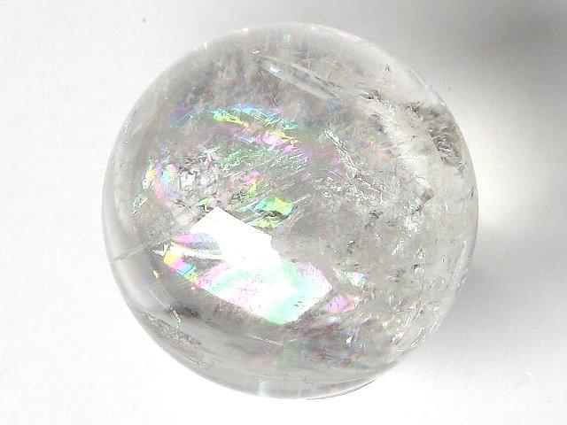 ブラジル産 レインボークリスタル 水晶球【4月 誕生石】【54mm】
