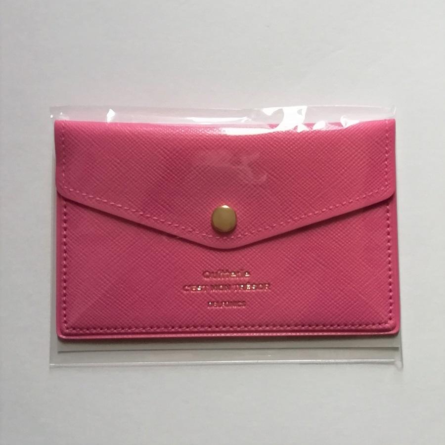Seasonal Wrap入荷 500223-522 2020モデル DELFONICS デルフォニックスキトリ カードケース500223-522 追跡可能メール便可 PINK PK ピンク