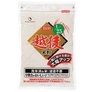 【本日ポイント5倍相当】バイオテックジャパン1/25越後米粒タイプ 1kg×18袋(発送までに5日前後かかります・ご注文後のキャンセルは出来ません)